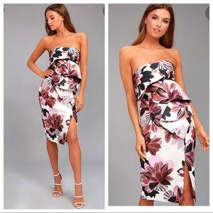 Keepsake Floral Layered Dress